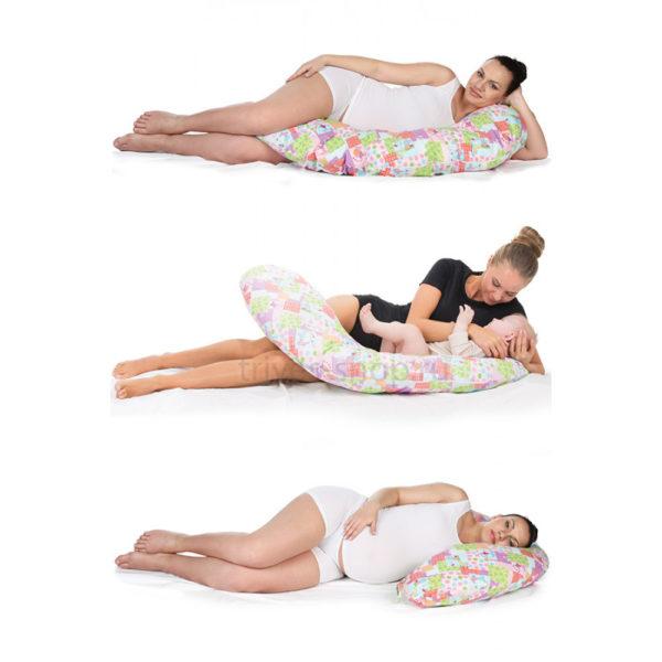 Подушка ортопедическая для беременных и кормящих Тривес ТОП-113 купить в Воронеже