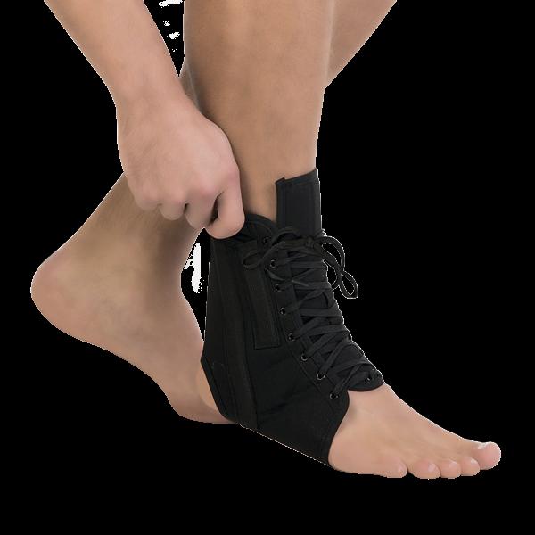 Бандаж голеностопный на шнуровке тривес Т-8608-1 купить в ортопедии в Воронеже