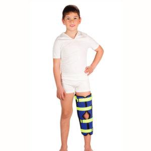 Бандаж детский на коленный сустав для полной фиксации Тривес Т-8535 для детей купить в ортопедии в Воронеже