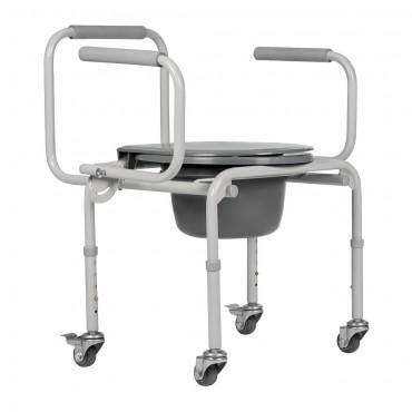 Кресло туалет на колесах ортоника TU 8 купить в ортопедии в Воронеже